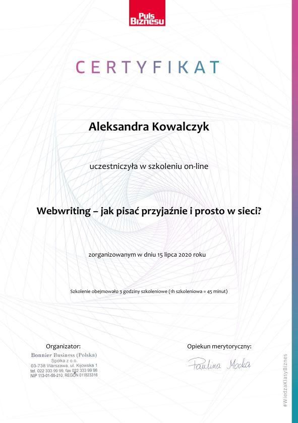webwriting_certyfikat